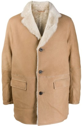 S.W.O.R.D 6.6.44 Shearling-Lined Coat