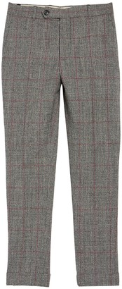 Helmut Lang Cropped Skinny Wool Trousers