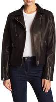 Doma Reed Genuine Leather Moto Jacket