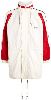 Gucci Cotton Canvas Logo Jacket