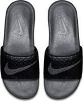 Nike Benassi Solarsoft 2 Men's Slide Sandal Size 4 (Black)