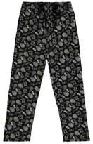 George Star Wars Black Logo Print Lounge Pants