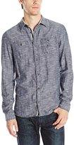 Buffalo David Bitton Men's Sigurl Long Sleeve Woven Shirt