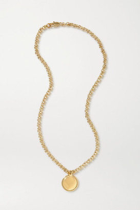 Laura Lombardi + Net Sustain Rosa Gold-plated Necklace - one size