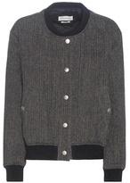Etoile Isabel Marant Isabel Marant, Étoile Hanton Tweed Virgin Wool Jacket