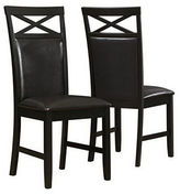 Monarch Set of Two Cappuccino Dining Chairs