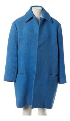 Celine Blue Wool Coats