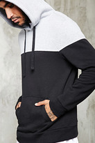 Forever 21 FOREVER 21+ Two-Toned Colorblock Hoodie