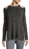 Design Lab Lord & Taylor Rib-Knit Long-Sleeve Sweater