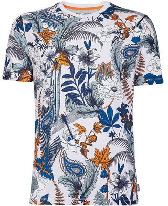 Ted Baker Icecube Ss Printed T-Shirt