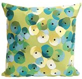"Liora Manné Mystic II Spring Flower Pillow, 20 x 20"", Lime"