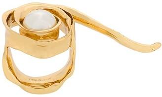 Coup De Coeur Wild Rose Pearl ring