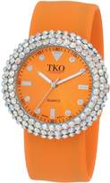 TKO ORLOGI Women's TK613CLOR Crystal Slap Watch