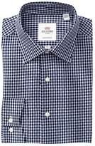 Ben Sherman Dobby Gingham Florentine Tailored Slim Fit Dress Shirt