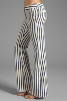 Camilla And Marc Clipped Striped Trouser