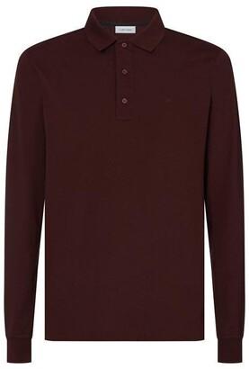 Calvin Klein Long Sleeve Polo Top