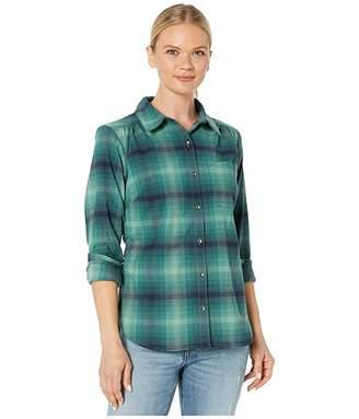 Royal Robbins Merinoluxtm Flannel Long Sleeve (Jasper) Women's Clothing