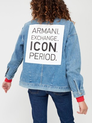 Armani Exchange Denim Jacket - Denim