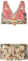 Pate De Sable Gold Butterfly Bikini