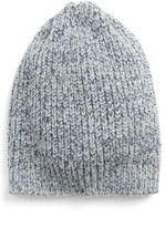 Halogen Women's Ribbed Beanie - Beige