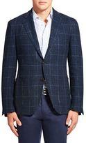 Etro Plaid Linen & Silk Jacket