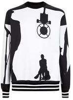 Dolce & Gabbana Jazz Club Silhouette Sweater