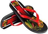 Forever Collectibles Chicago Blackhawks Gradient Big Logo Flip Flops
