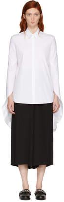 Neil Barrett White Spiral Shirt