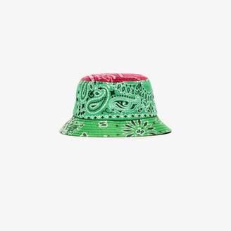 Children Of The Discordance Multicoloured bandanna print bucket hat