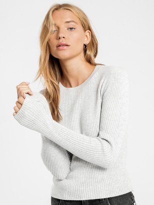 Nude Lucy Classic Knit in Grey Marle