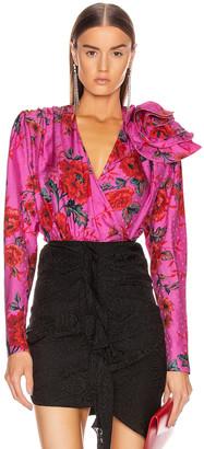Magda Butrym Bolzano Blouse in Pink | FWRD