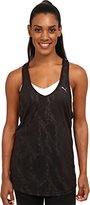 Puma Women's WT Mesh It Up Layer Tank Top