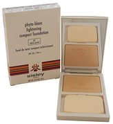 Sisley Phyto-Blanc Lightening Compact Foundation SPF 20/Pa++ - No 02 Petal, 0.35 Ounces