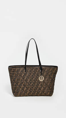 Fendi Brown Zucca Quilted Bag