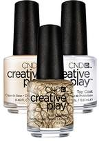 CND Creative Play Let's Go Antiquing # 445 13.5 ml Creative Play 13.5 ml Base Coat and Top Coat 13.5 ml Pack of 1 x 0.041 L)