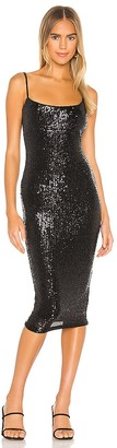 Nookie Sweet Nothings Sequin Midi Dress