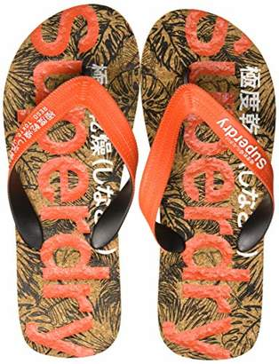 Superdry Men's Printed Cork Flip Flop,6-7 UK