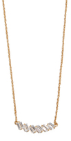 Jennifer Zeuner Jewelry Holland White Sapphire Necklace