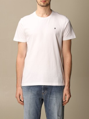 Dondup Cotton T-shirt With Mini Logo