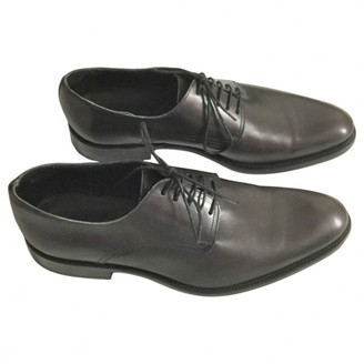 Christian Dior Brown Leather Lace ups