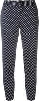 Steffen Schraut polka dot cropped trousers