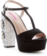 Betsey Johnson Ferra Beaded Platform Sandal