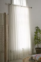Urban Outfitters Crochet Trim Curtain