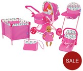 Hauck 8-in-1 Dolls Play Set - Little Flower