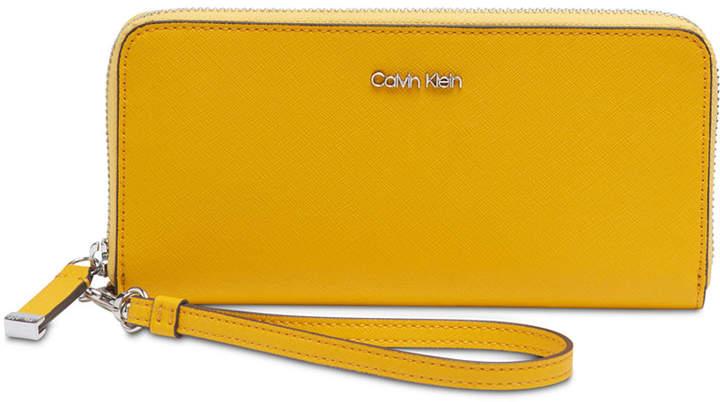 3c274125f1 Calvin Klein Yellow Handbags - ShopStyle