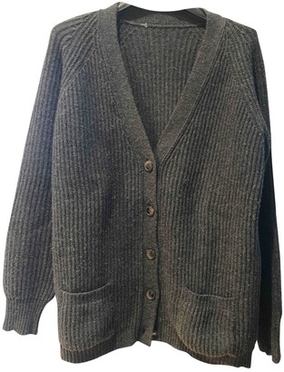 Golden Goose Anthracite Wool Knitwear
