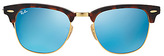 Ray-Ban Women's Clubmaster 51mm Mirrored