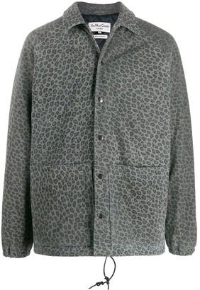 YMC Leather Shirt Jacket