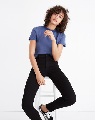Madewell Petite Roadtripper Jeans in Bennett Black