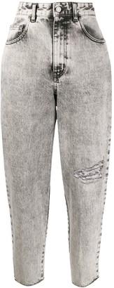 Just Cavalli Cropped Boyfriend Jeans